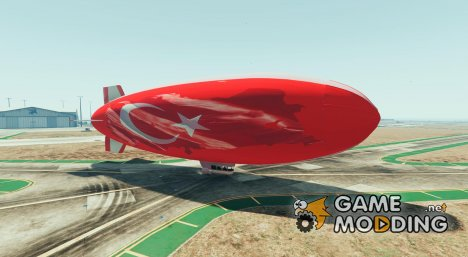 TURKEY BLIMP Texture mod v1.9 for GTA 5
