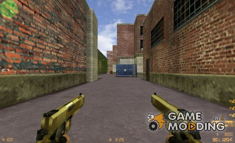 Castor Troy's Golden Colts for Counter-Strike 1.6