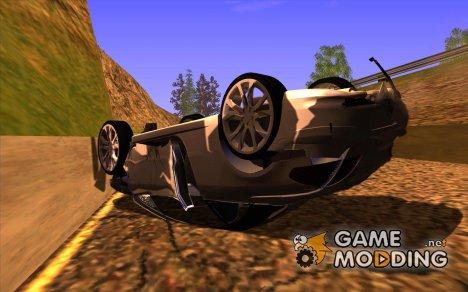 Перевернутые автомобили не горят для GTA San Andreas