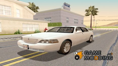 2010 Lincoln Town Car L Signature для GTA San Andreas