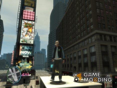 Куртка с футболкой для GTA 4