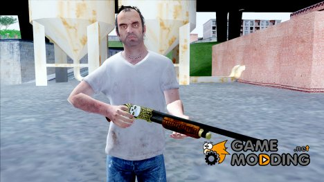 Pump Shotgun Halloween for GTA San Andreas
