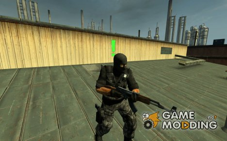 Tactical Urban Commando для Counter-Strike Source