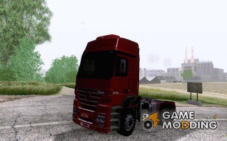 MB Axor 2046 6x4 for GTA San Andreas