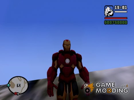 Ironman Mark 7 HD skin for GTA San Andreas