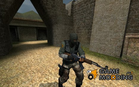 Mercenary для Counter-Strike Source