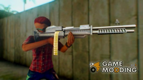Пак изменённых стандартных оружий for GTA San Andreas