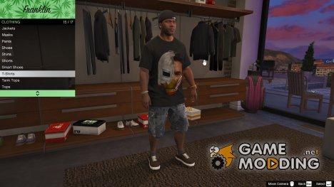 Футболка Железный человек для GTA 5