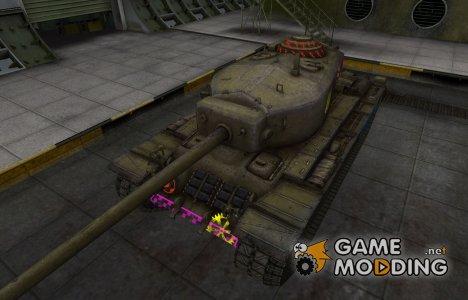 Качественные зоны пробития для T30 for World of Tanks