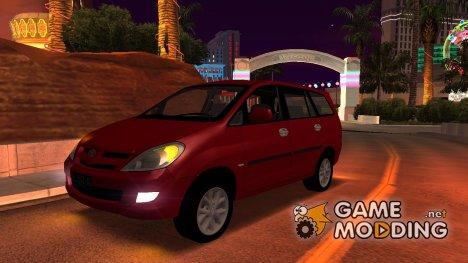 Toyota Kijang Innova для GTA San Andreas