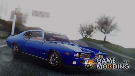 1969 Pontiac GTO 'The Judge' Hardtop Coupe (4237) для GTA San Andreas