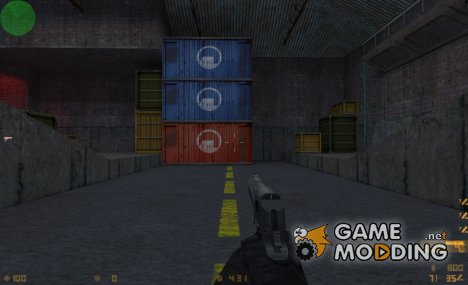 Deagle on .eXe MW2 animations для Counter-Strike 1.6