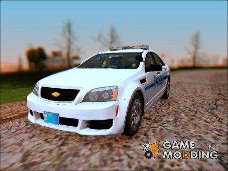 2013 Chevrolet Caprice Generic for GTA San Andreas