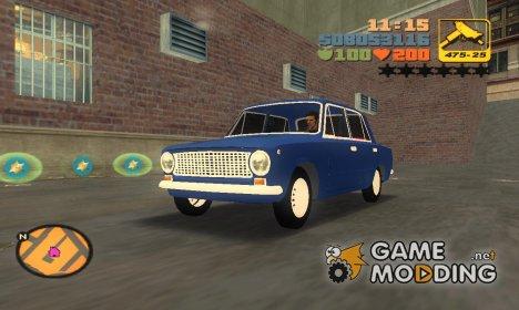 ВАЗ 2101 для GTA 3
