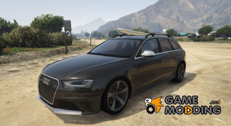 Audi RS4 Avant 2013 for GTA 5