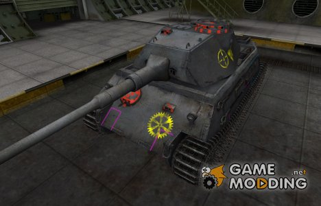 Контурные зоны пробития VK 45.02 (P) Ausf. A для World of Tanks