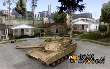 Танк M1A2 Abrams for GTA San Andreas