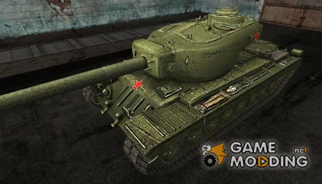 Шкурка для T34 hvy for World of Tanks