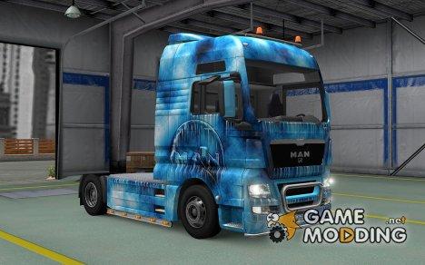 Скин Iced для MAN TGX для Euro Truck Simulator 2