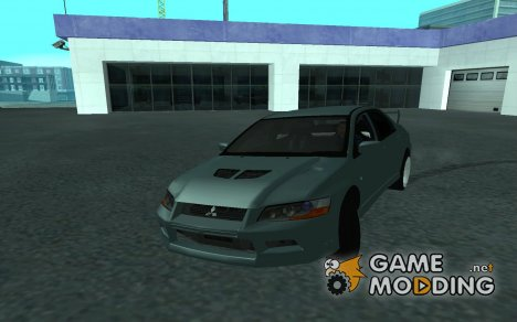 Mitsubishi Lancer Evolution VII Tunable for GTA San Andreas