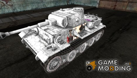 Шкурка для VK3601(H) Anime skin for World of Tanks