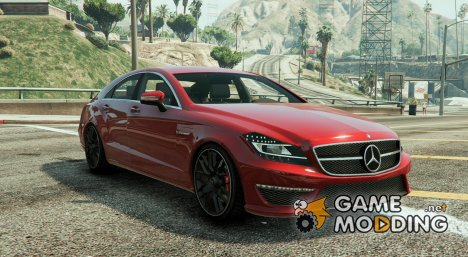 Mercedes-Benz CLS 6.3 AMG v.1.2 for GTA 5