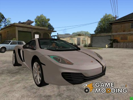 Mclaren Mp4-12C 2013 for GTA San Andreas