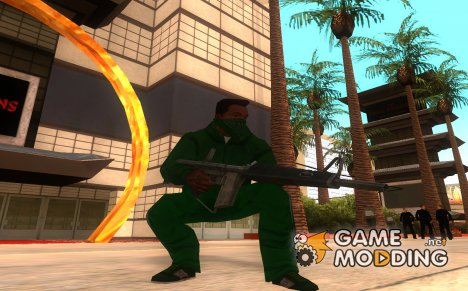 Atchisson Assault Shotgun 1972 для GTA San Andreas