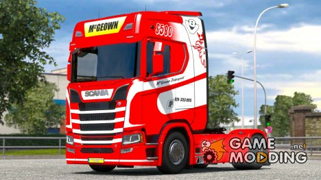 Mc Geown для Scania S580 for Euro Truck Simulator 2