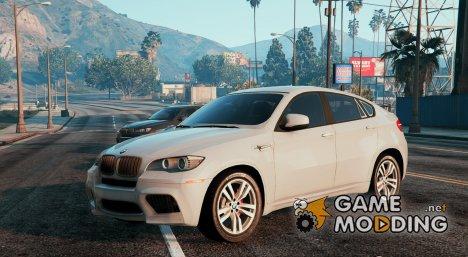 BMW X6M E71 для GTA 5
