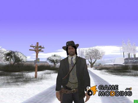 John Marston (Red Dead Redemption) v1 для GTA San Andreas