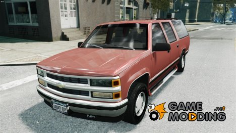 Chevrolet Suburban GMT400 1998 for GTA 4