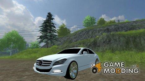 Mercedes-Benz CLS 350 CDI for Farming Simulator 2013
