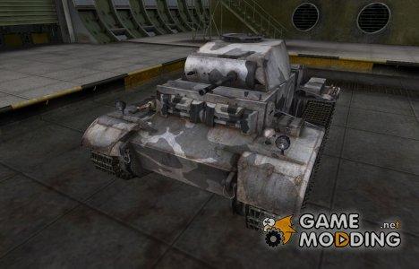 Шкурка для немецкого танка PzKpfw II Ausf. J для World of Tanks