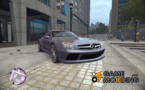 Mercedes AMG SL65 Black Series для GTA 4