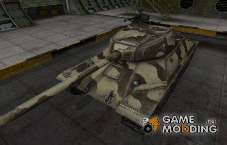 Пустынный скин для ИС-6 для World of Tanks