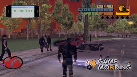Iphone for GTA 3