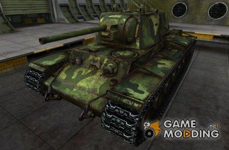 Шкурка для КВ-1 для World of Tanks