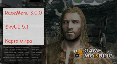 Interface Pack для TES V Skyrim