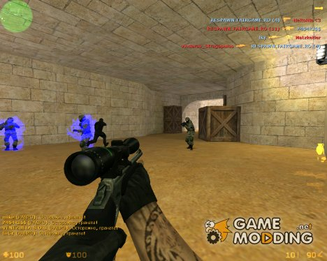 Scout из CS:Source for Counter-Strike 1.6