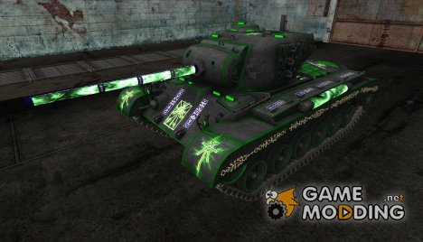 Шкурка для M26 Pershing (Вархаммер) для World of Tanks