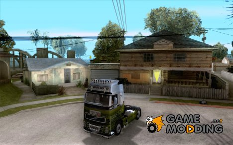 Volvo FH16 globetrotter for GTA San Andreas