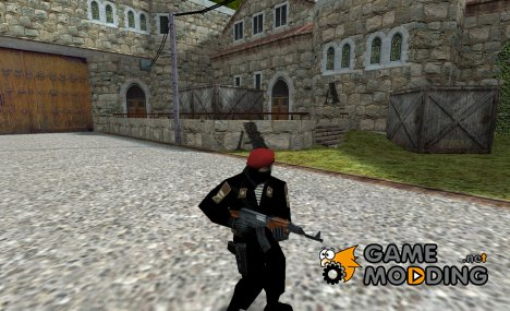 Russian commando officer for Counter-Strike 1.6