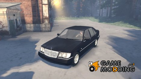 Mercedes-Benz S600 W140 for Spintires 2014