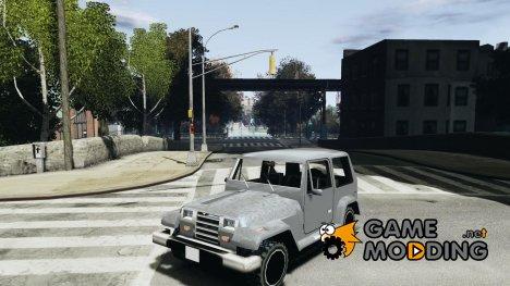 Mesa из GTA San Andreas для GTA IV for GTA 4