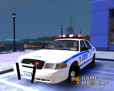 """NYPD-ESU K9"" 2010 Ford Crown Victoria Police Interceptor для GTA 4"