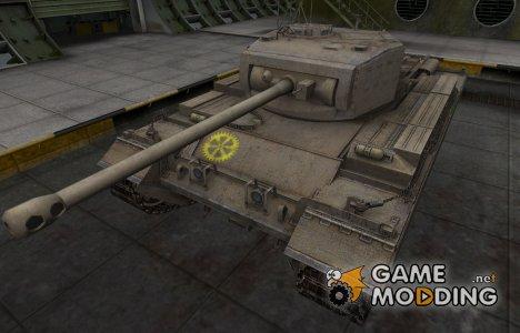 Контурные зоны пробития Caernarvon для World of Tanks