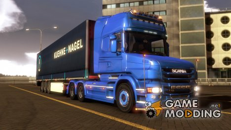 Тягач Scania T v1.5.3 от RJL for Euro Truck Simulator 2