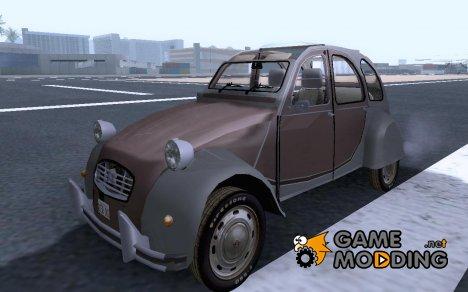 Citroen 2CV v2 for GTA San Andreas