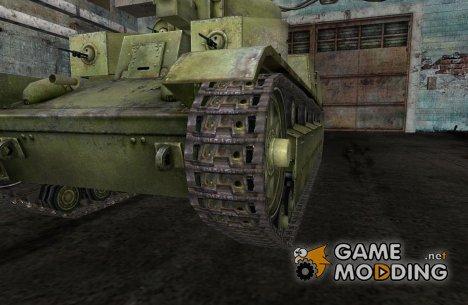 Замена гусениц для Т-28, Т-54